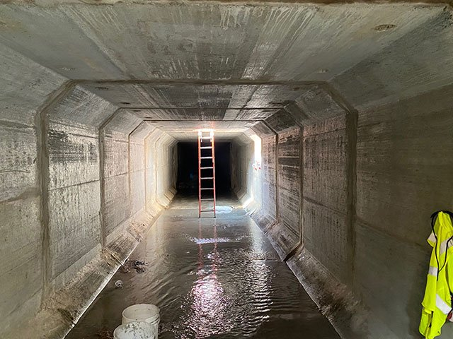 Elm Services Box Culvert Installation